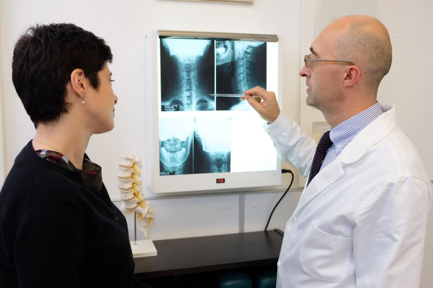 anatomia cervicale chiropratico