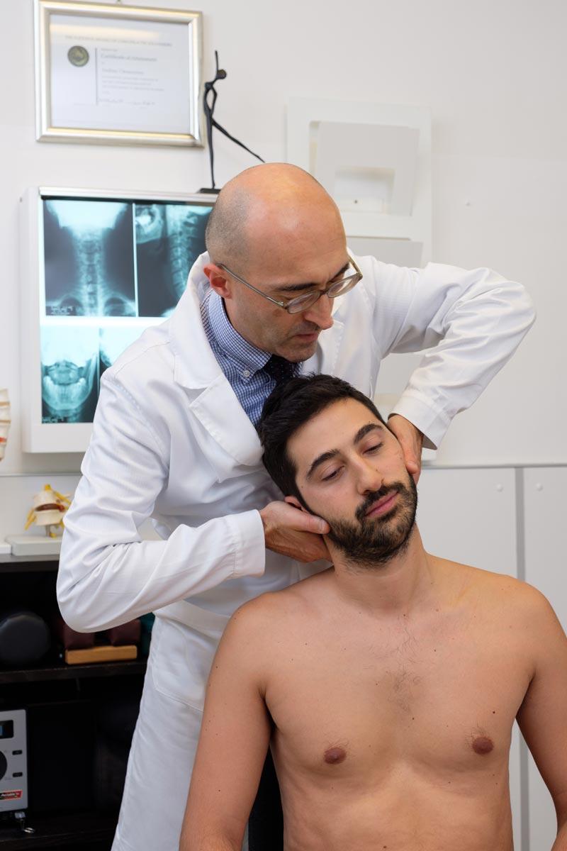 cervicalgia e cervicobrachialgia chiropratico