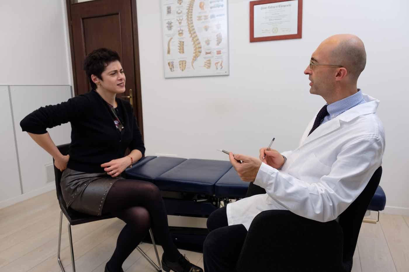 ernia efficacia del chiropratico