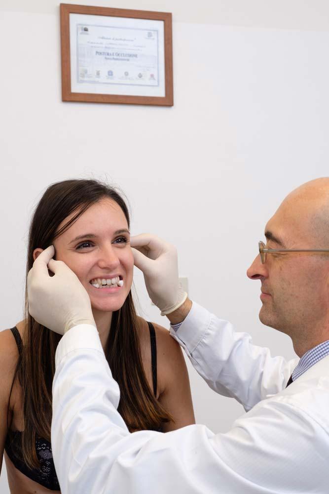 malocclusione dentale chiropratico